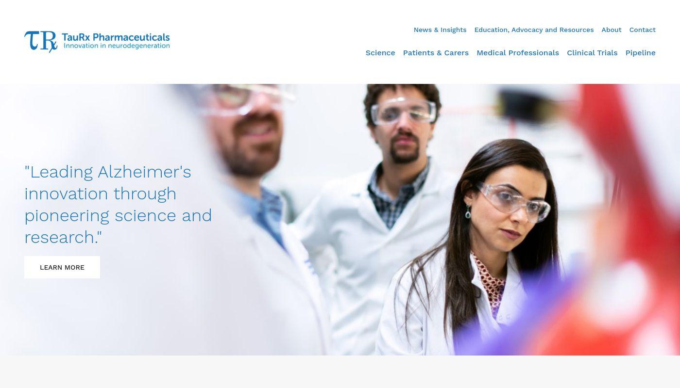 216) TauRx Pharmaceuticals