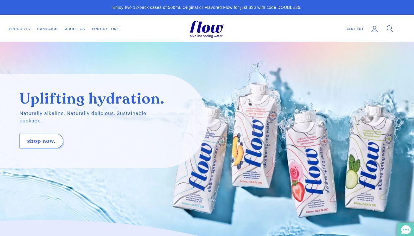 110) Flow Water