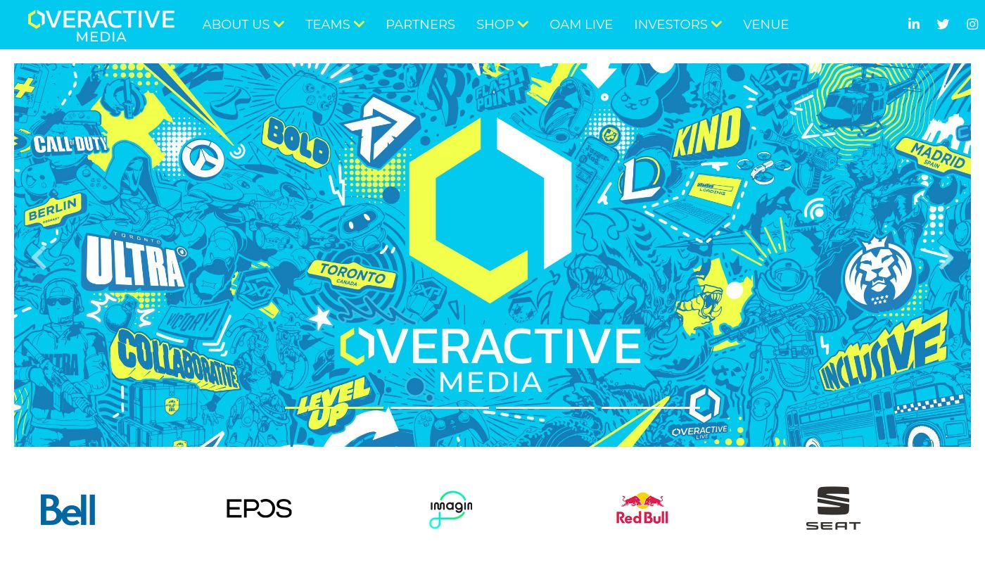 168) OverActive Media Group