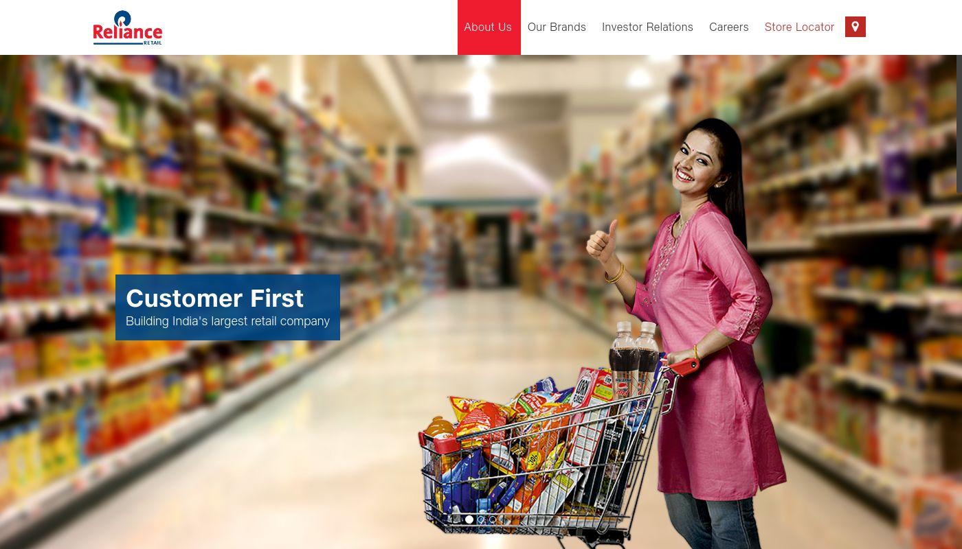 6) Reliance Retail