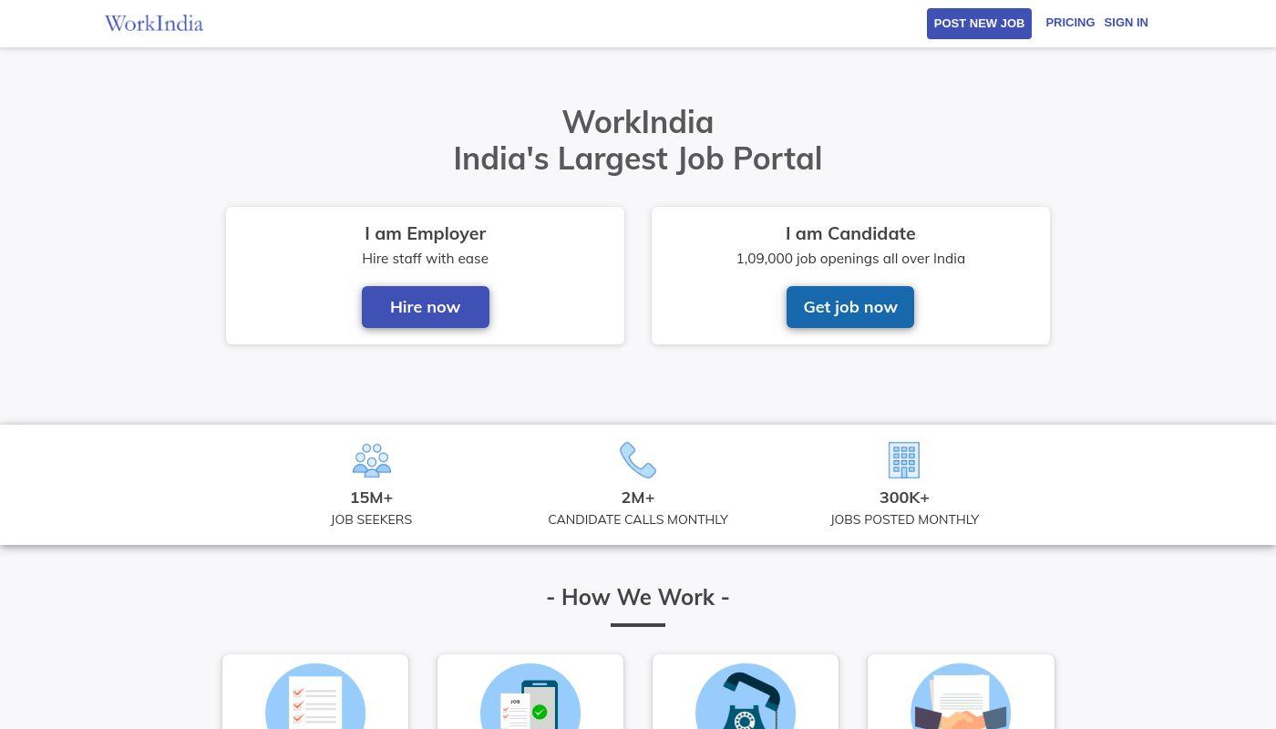 64) WorkIndia
