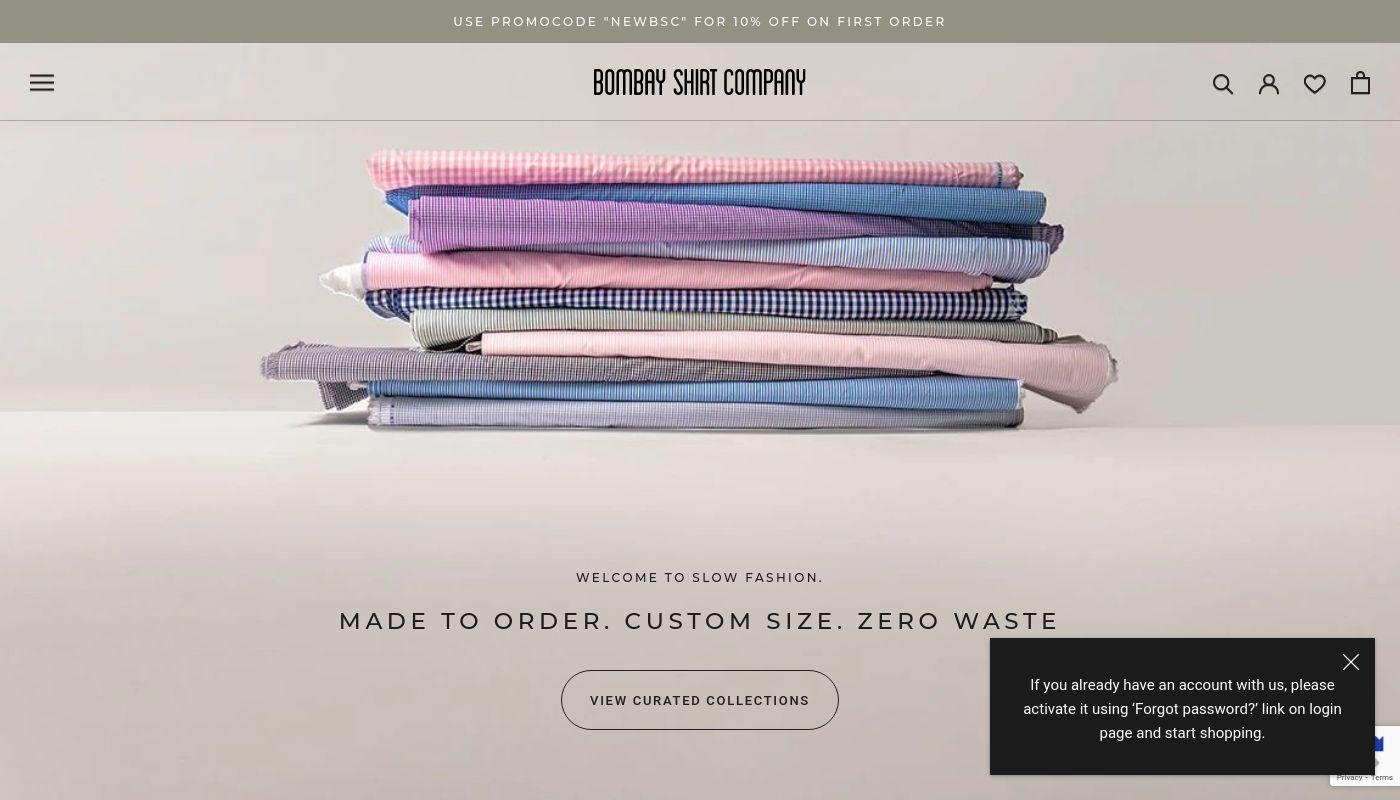 54) Bombay Shirt Company