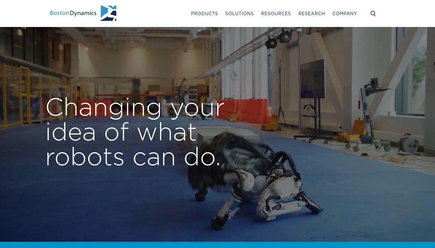 16) Boston Dynamics