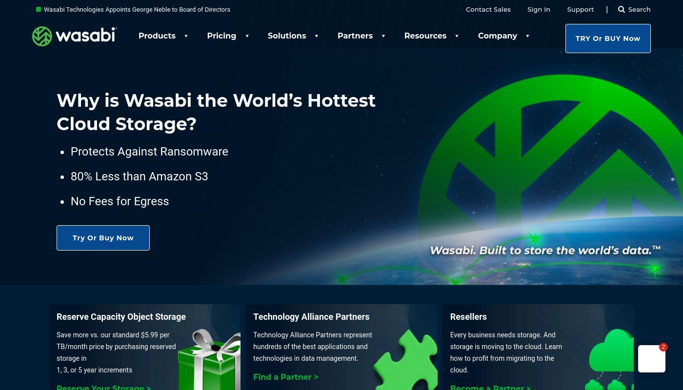 28) Wasabi Technologies