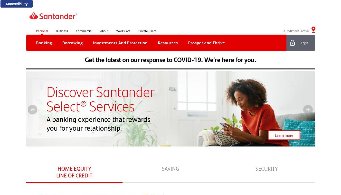 152) Santander Bank