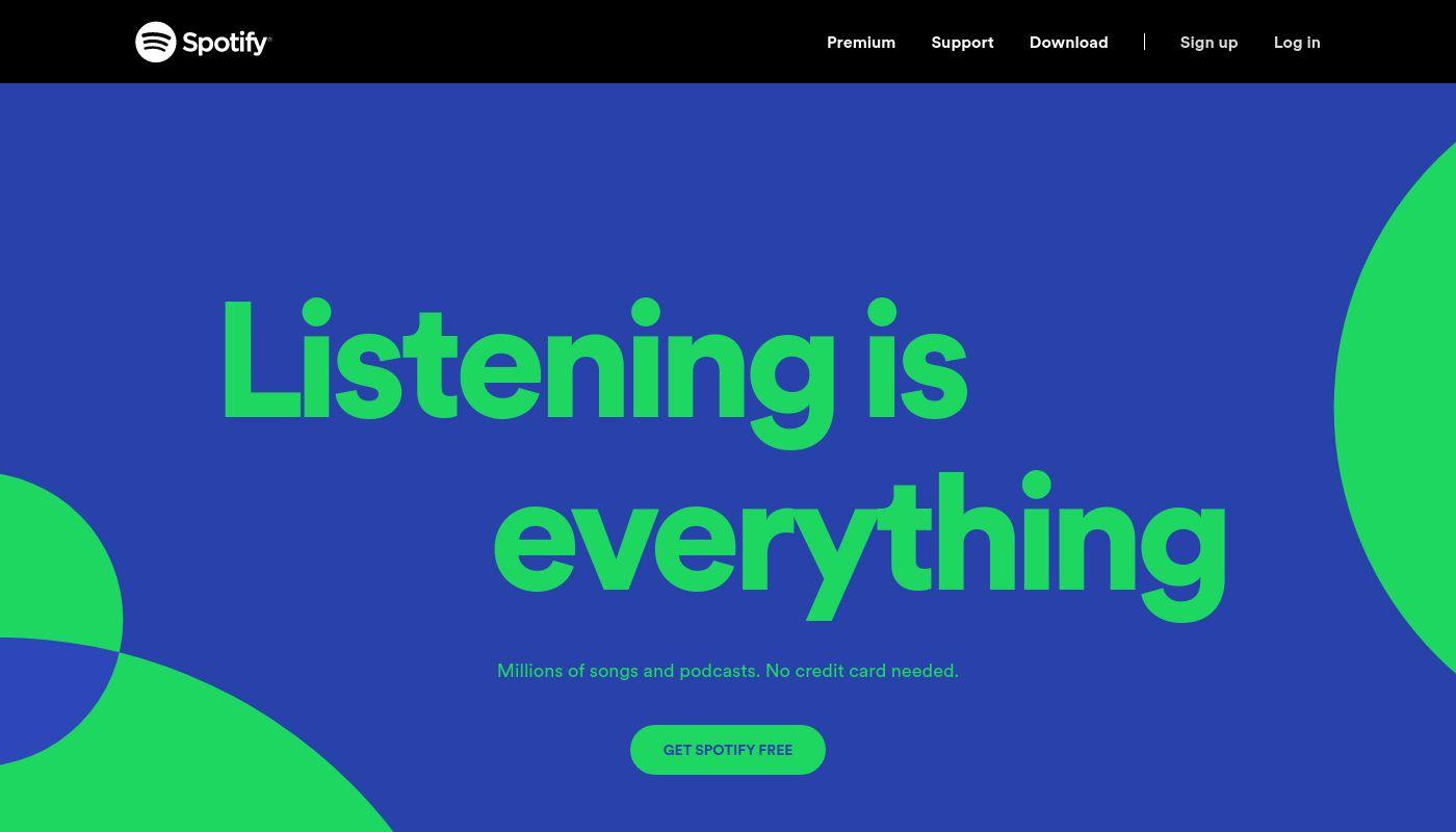 4) Spotify