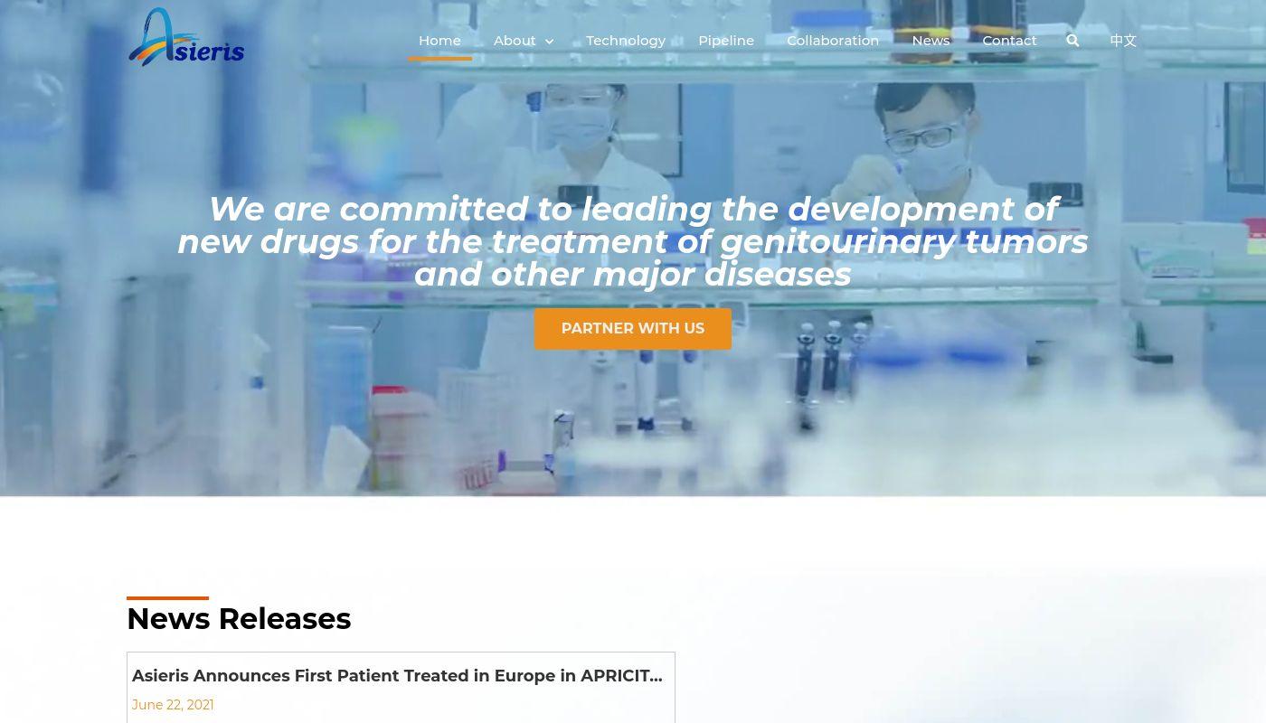 219) Asieris Pharmaceuticals