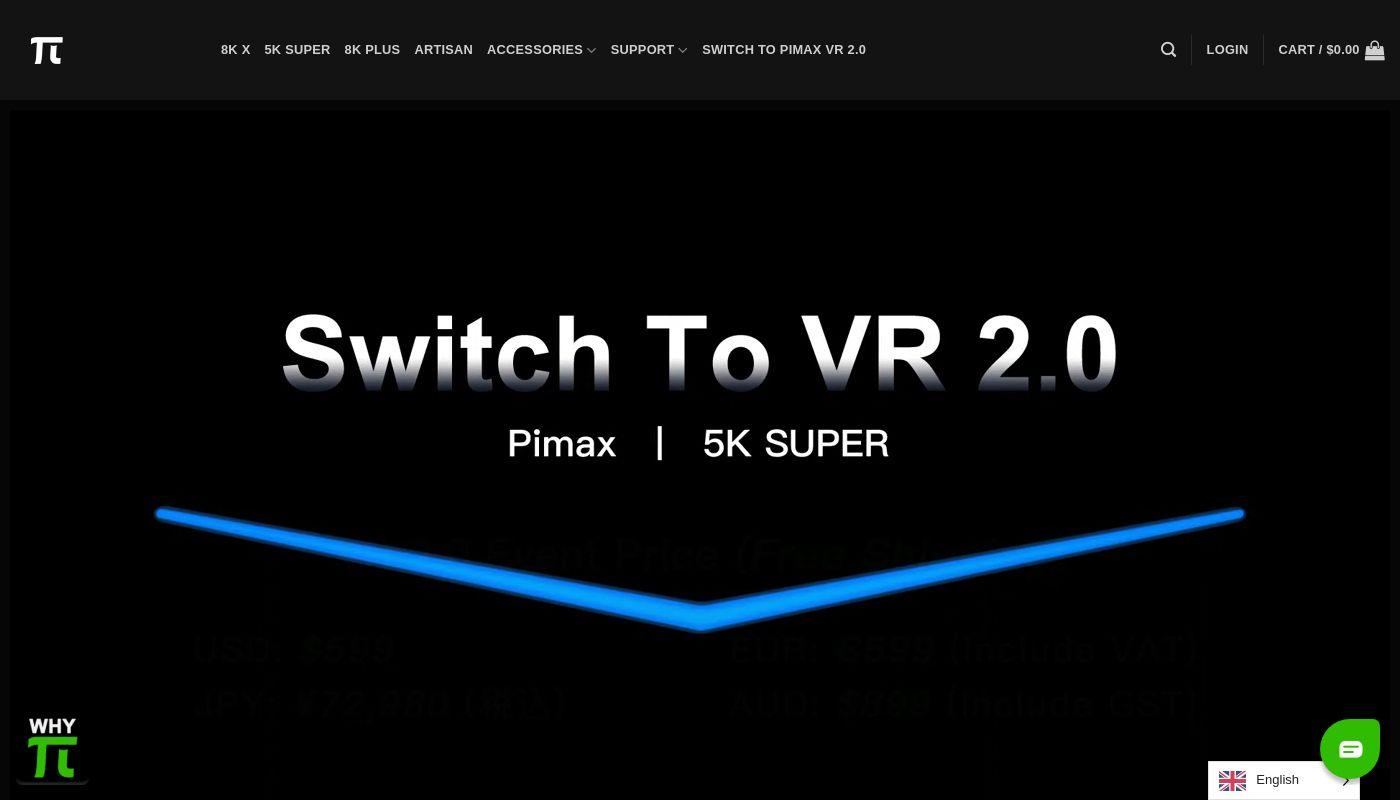 111) Pimax VR
