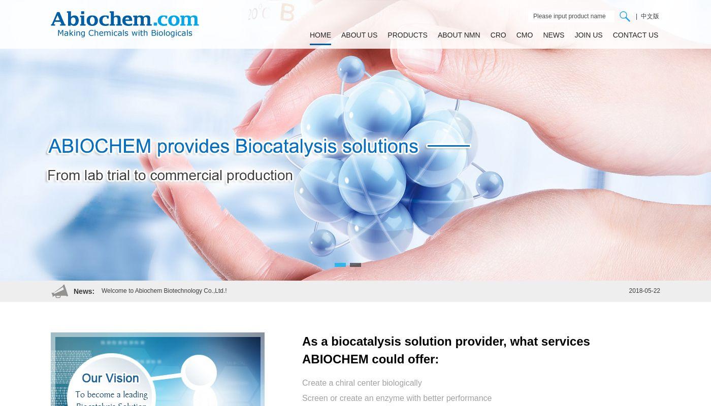 96) Abiochem Biotechnology