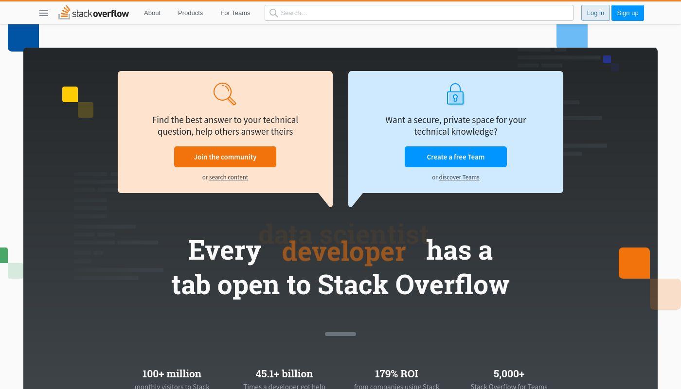 12) Stack Overflow