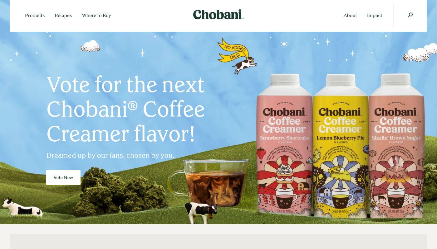 11) Chobani