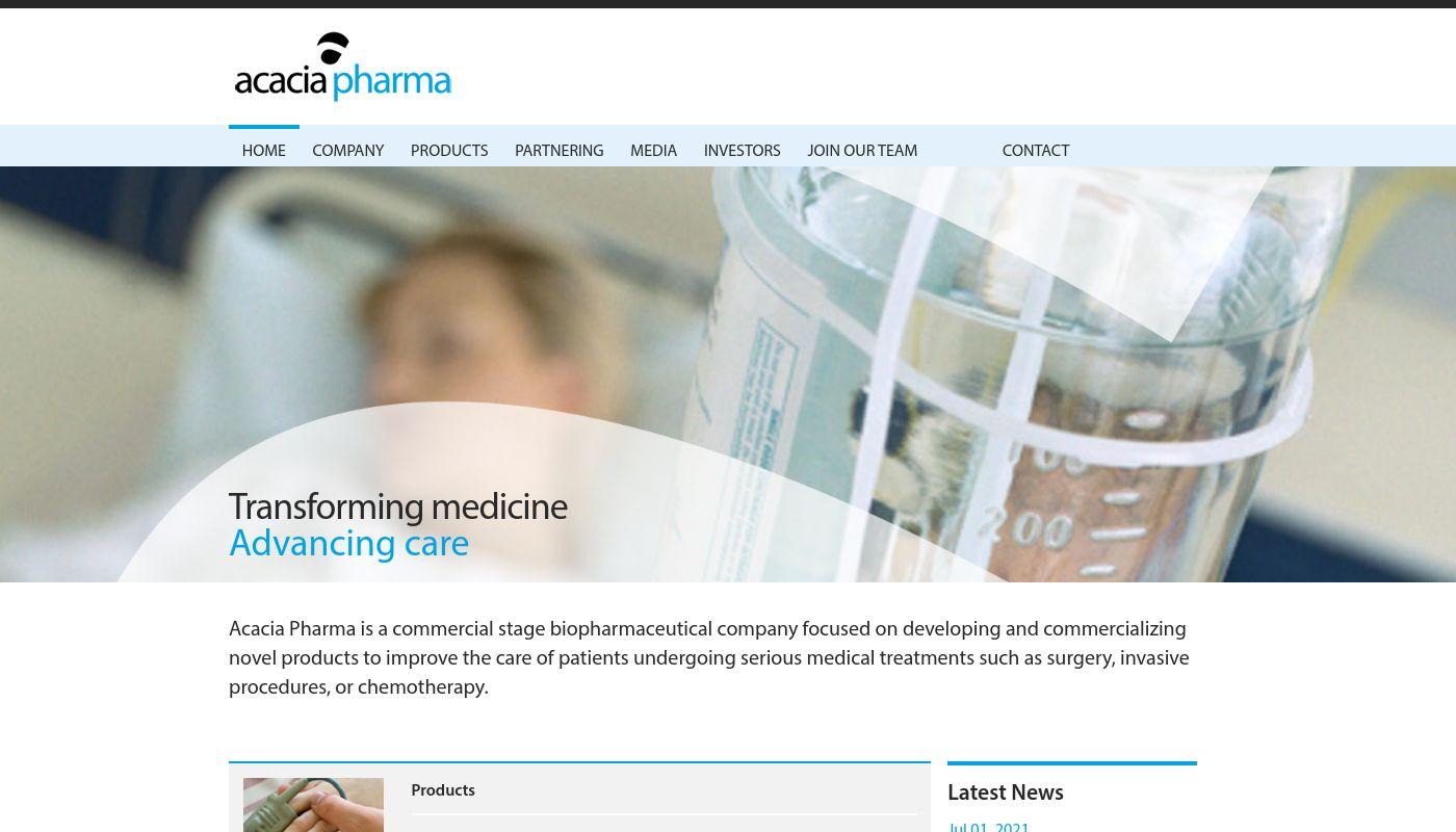 69) Acacia Pharma
