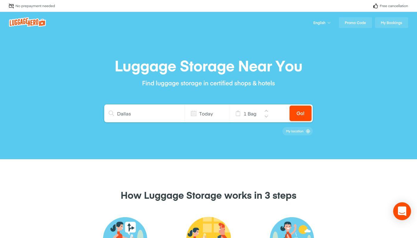 35) LuggageHero