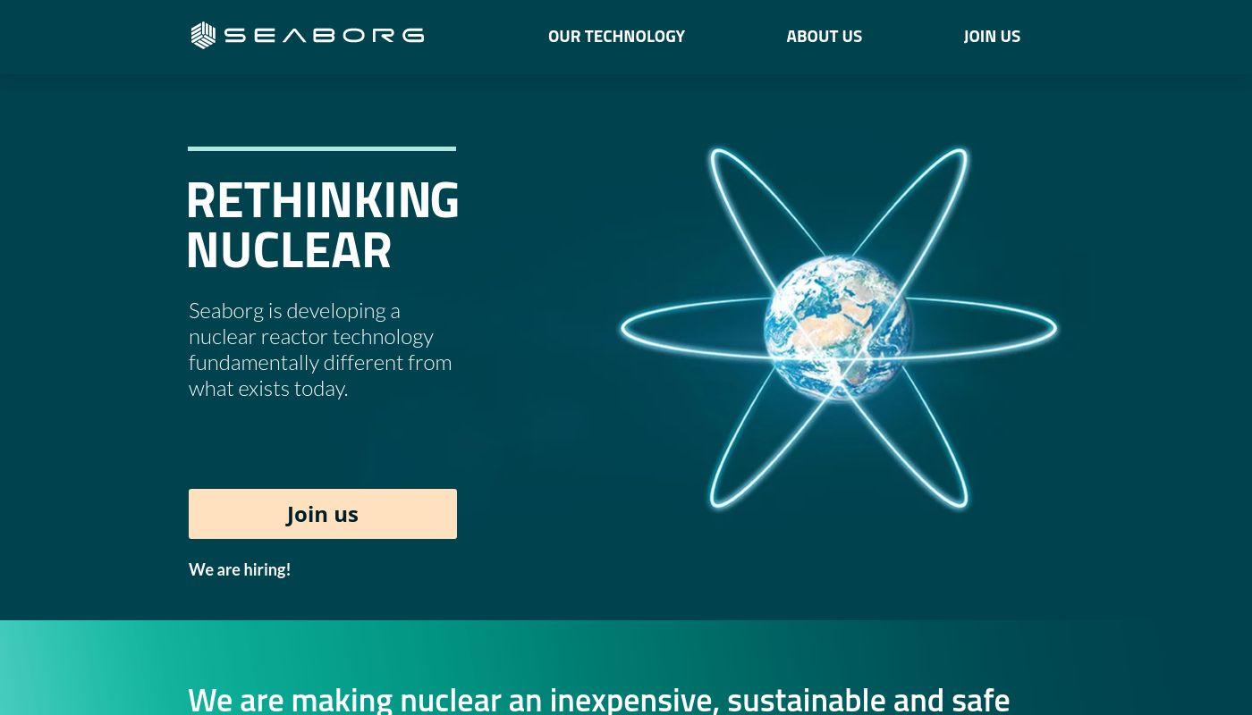 64) Seaborg Technologies