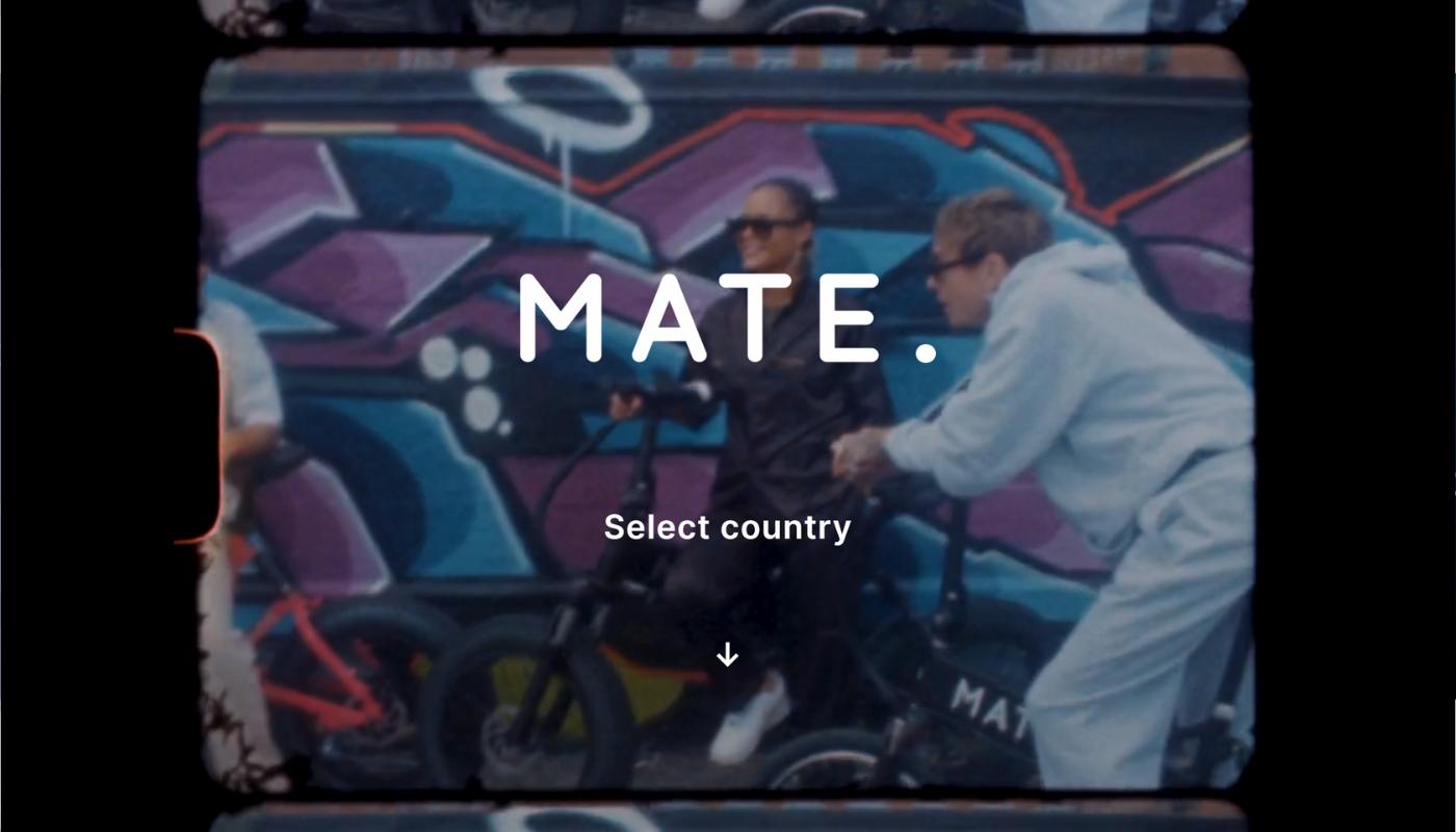 8) Mate.bike