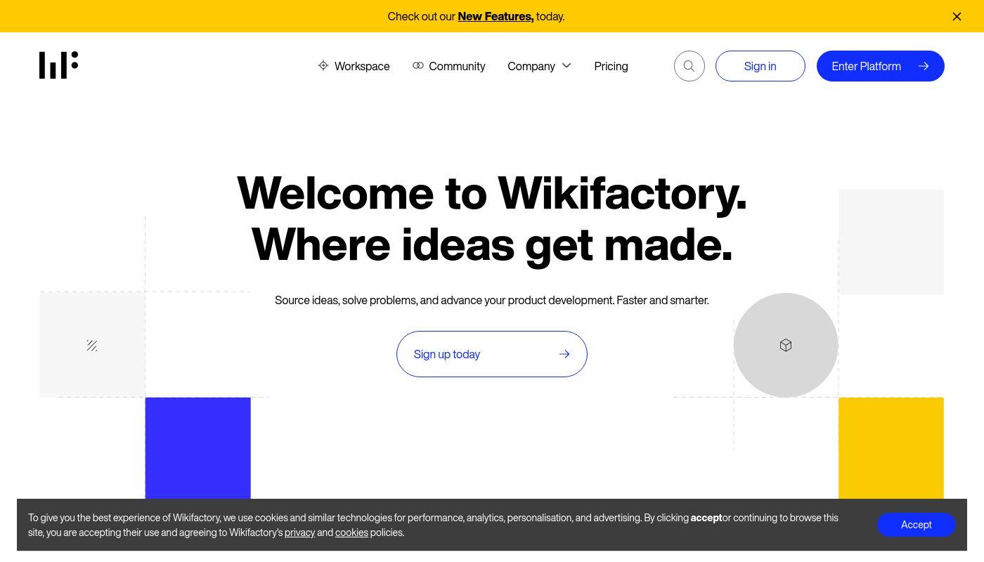 82) Wikifactory