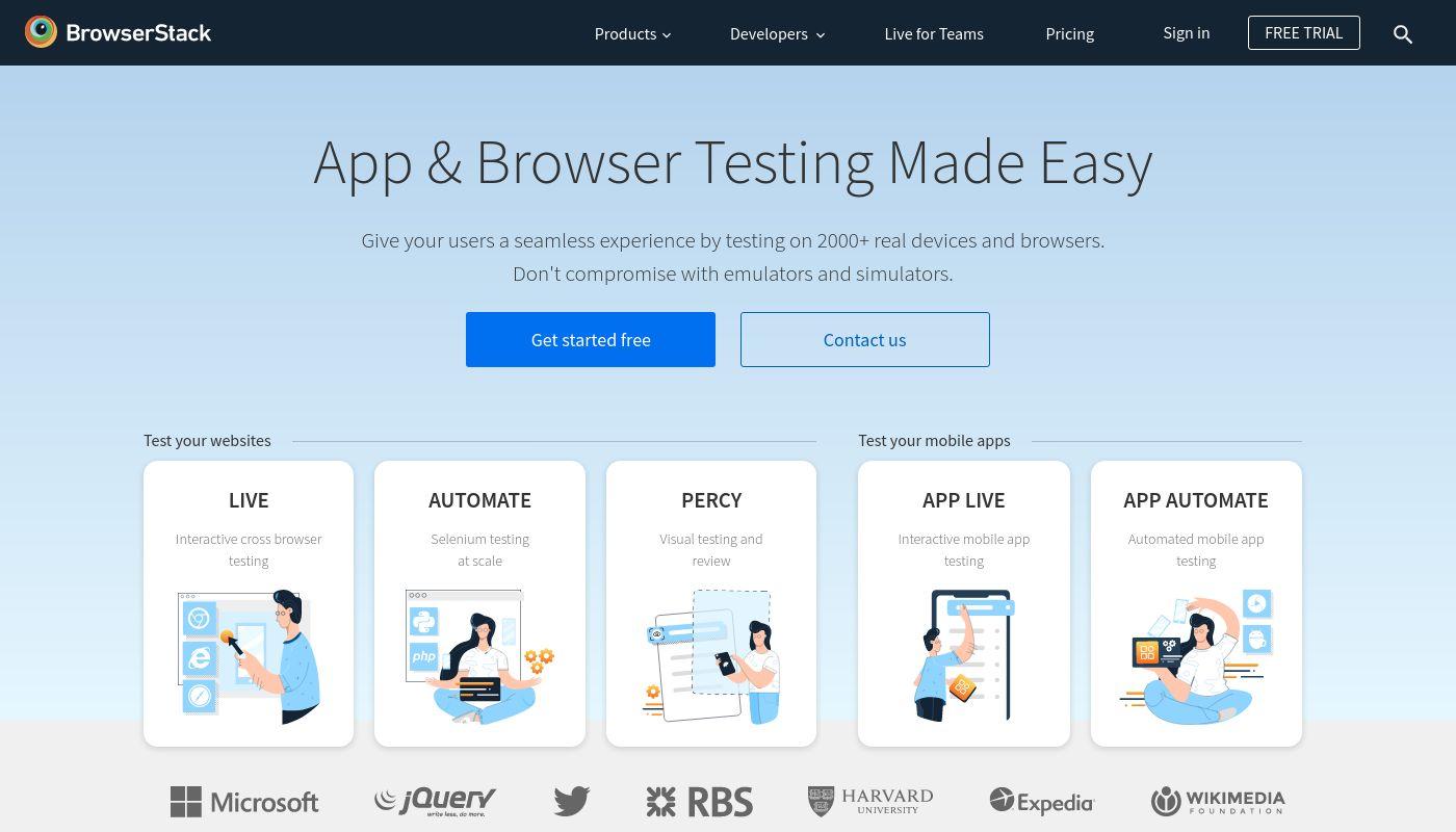 1) BrowserStack