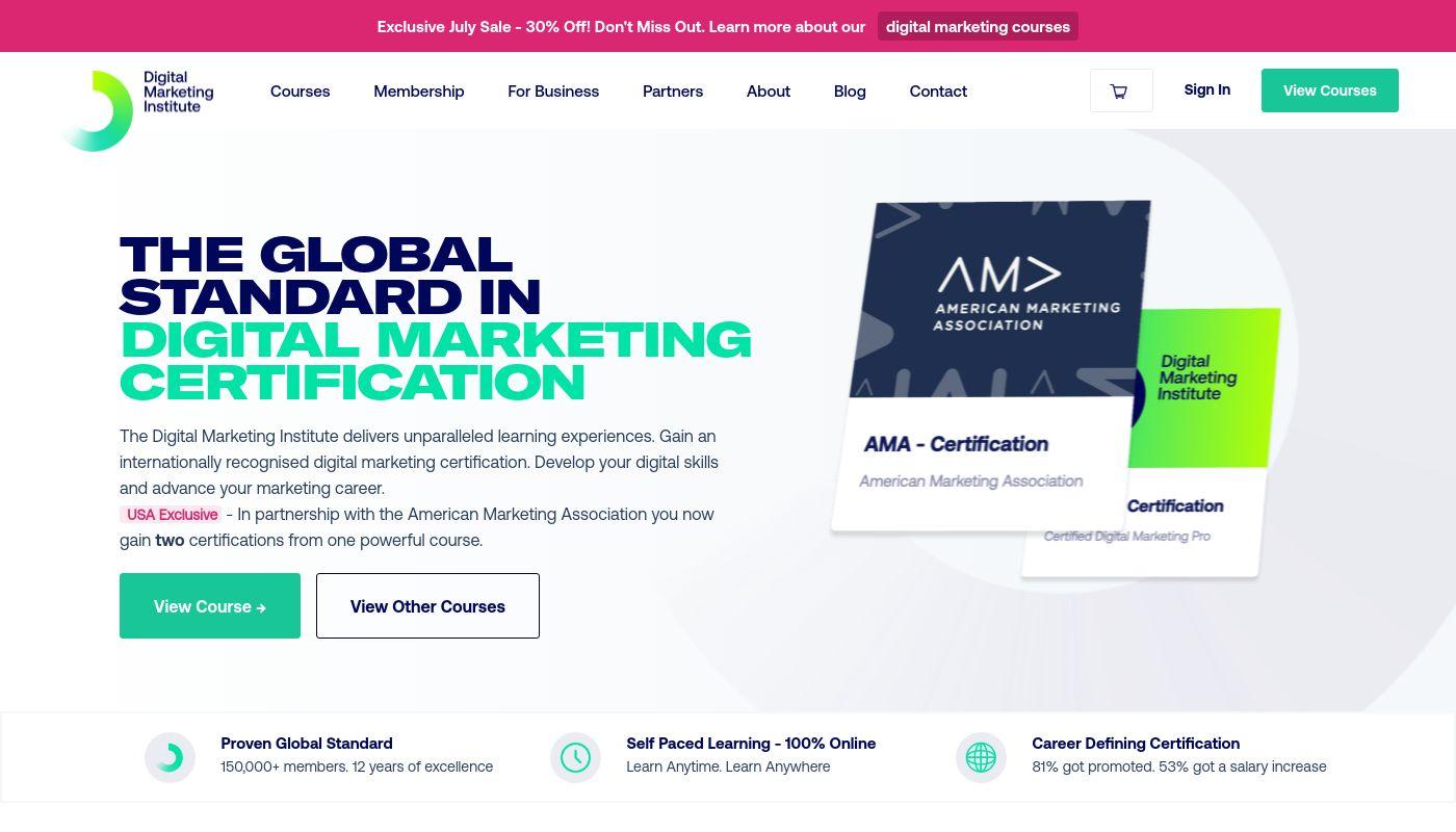 50) Digital Marketing Institute