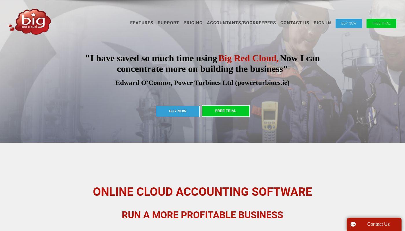 135) Big Red Cloud