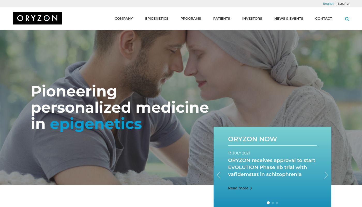 38) Oryzon Genomics