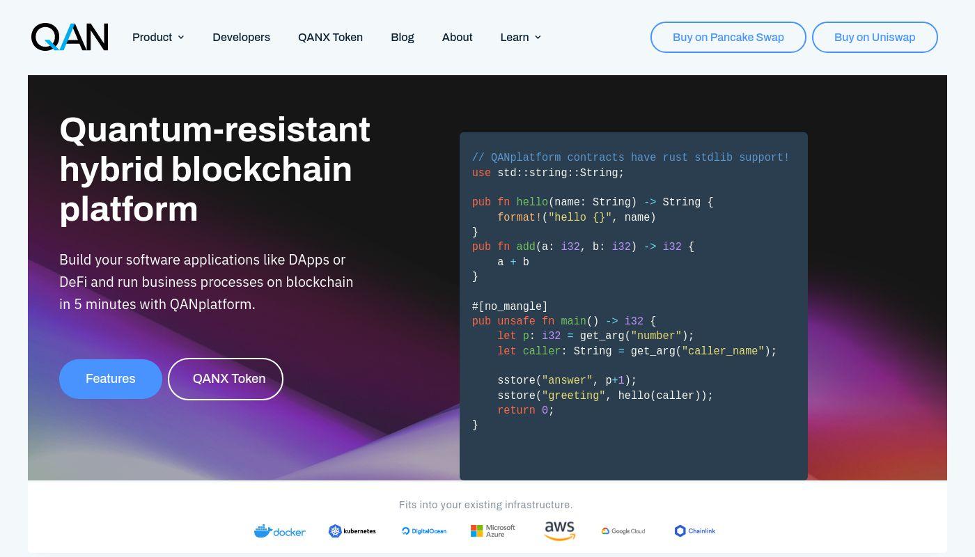 59) QANplatform [QAN blockchain platform]