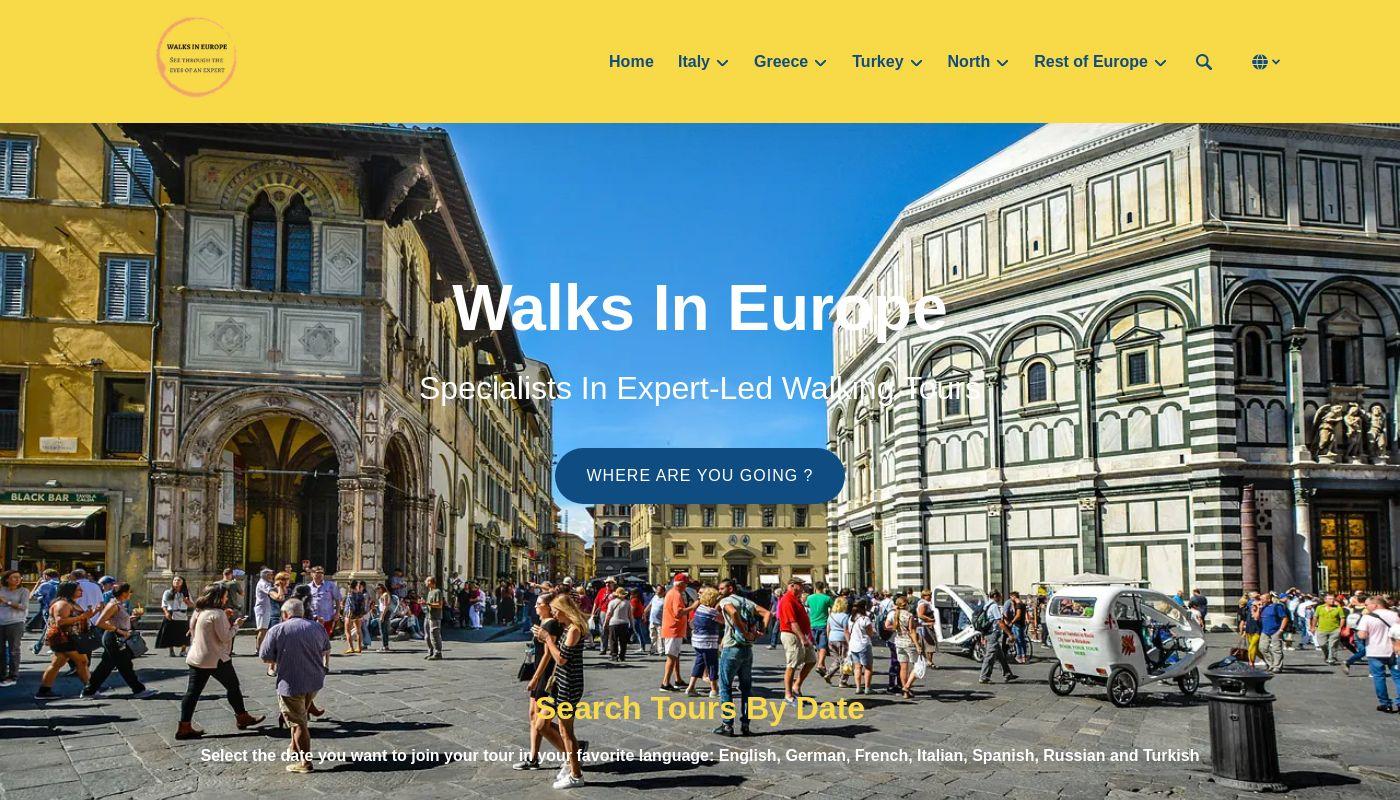 123) Walks In Europe