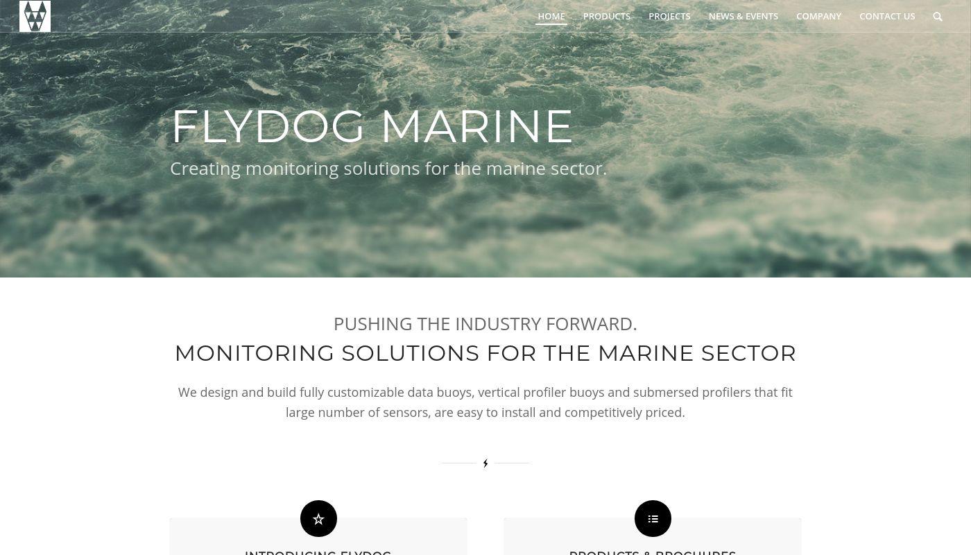 129) Flydog Marine