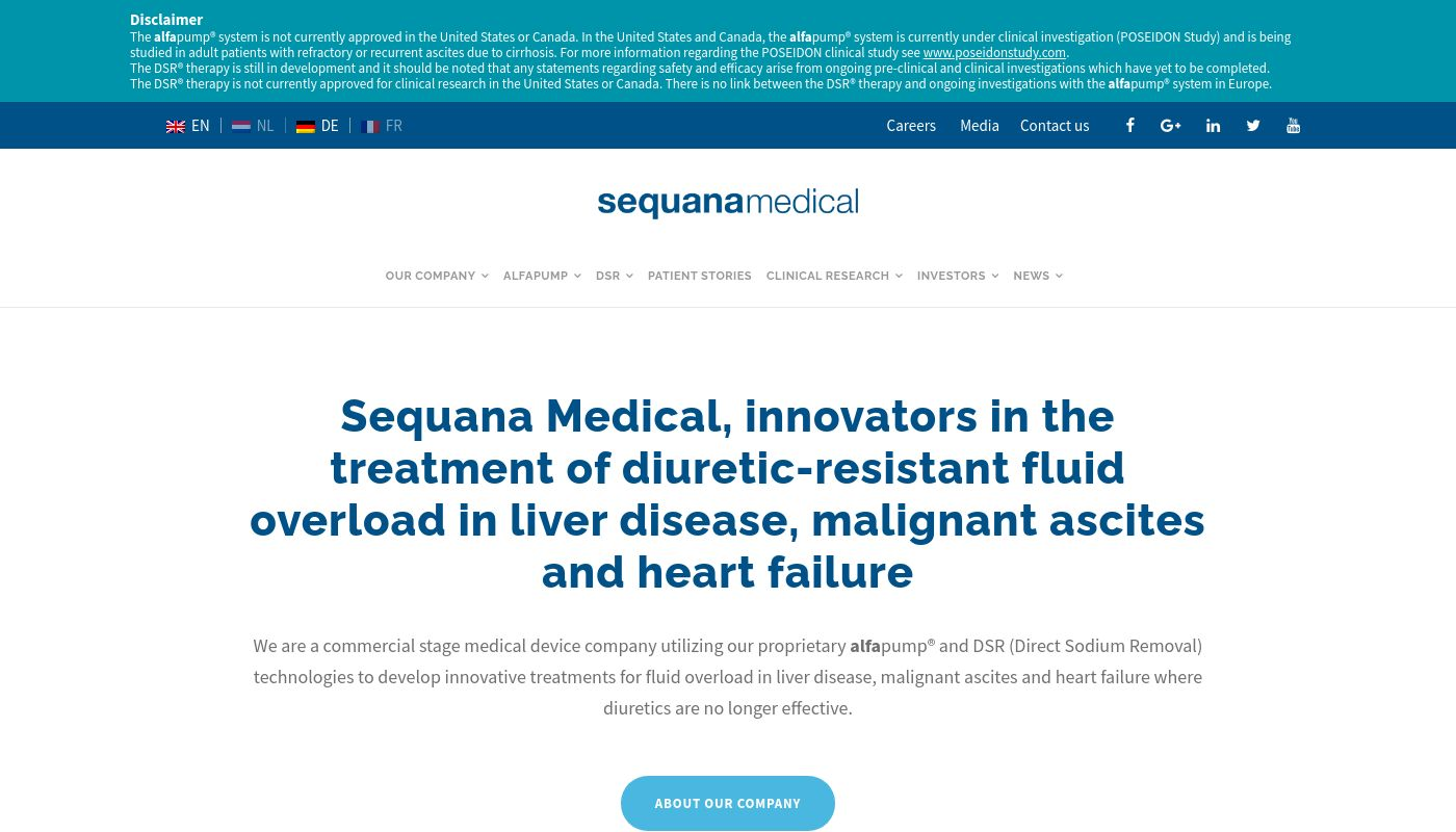 58) Sequana Medical