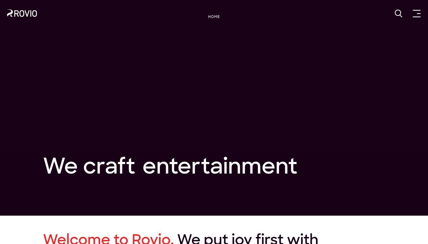 7) Rovio Entertainment