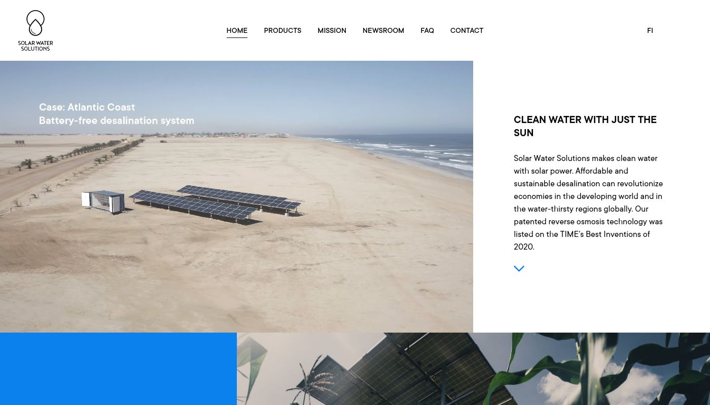 202) Solar Water Solutions