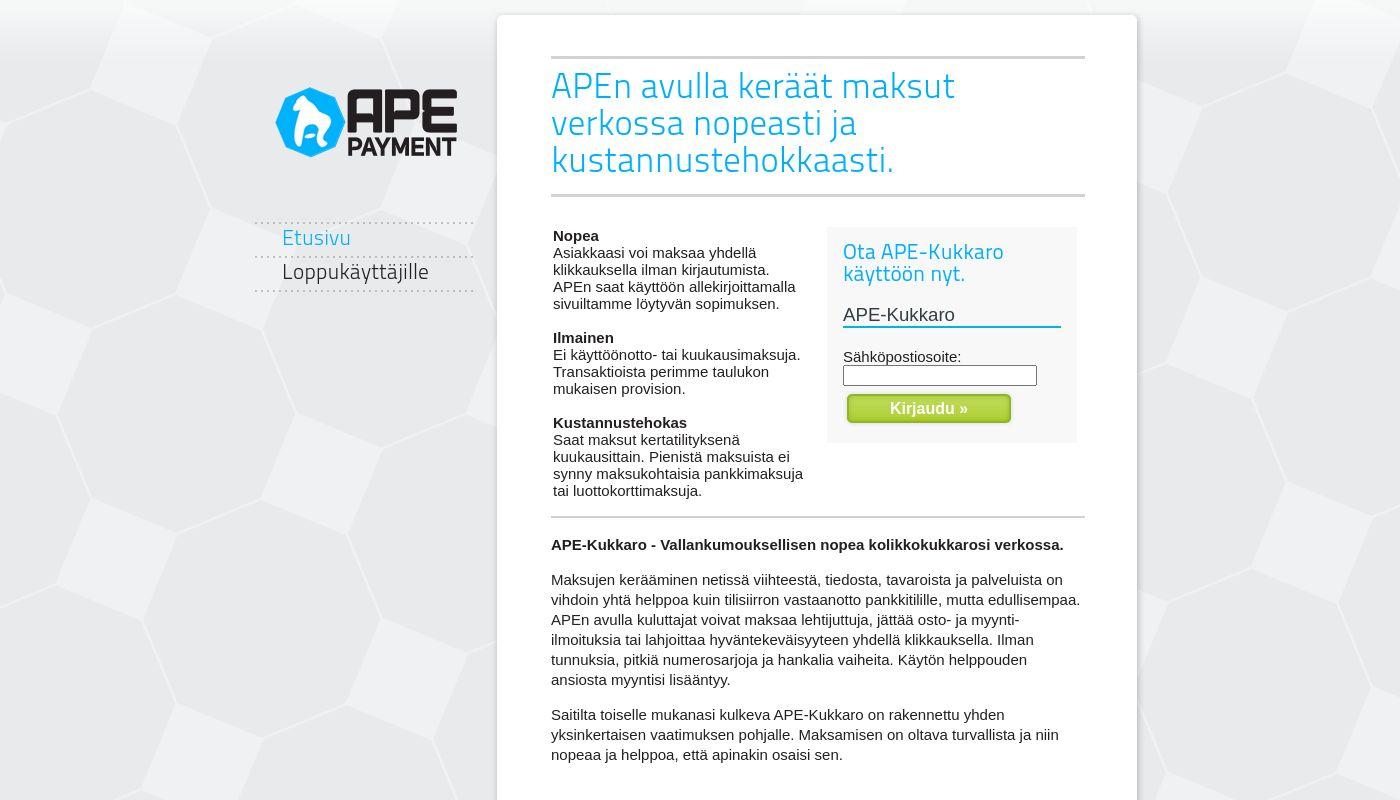 247) APE Payment