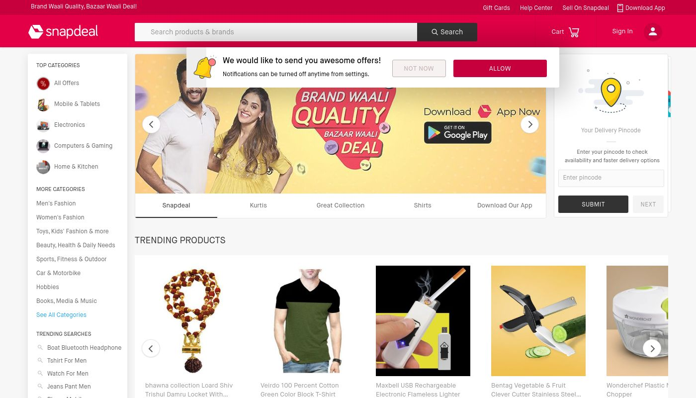 9) Snapdeal