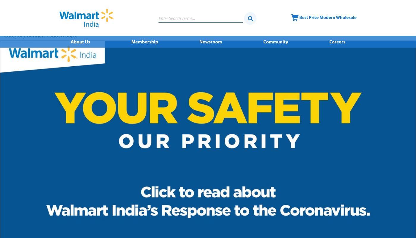 101) WalMart India