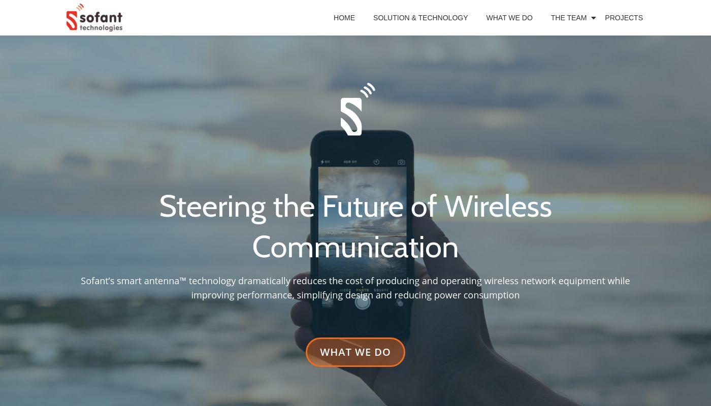20) Sofant Technologies