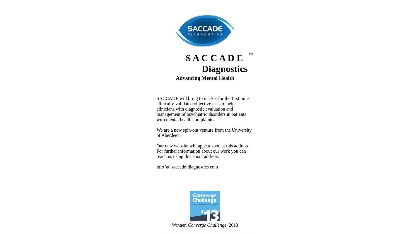 136) Saccade Diagnostics