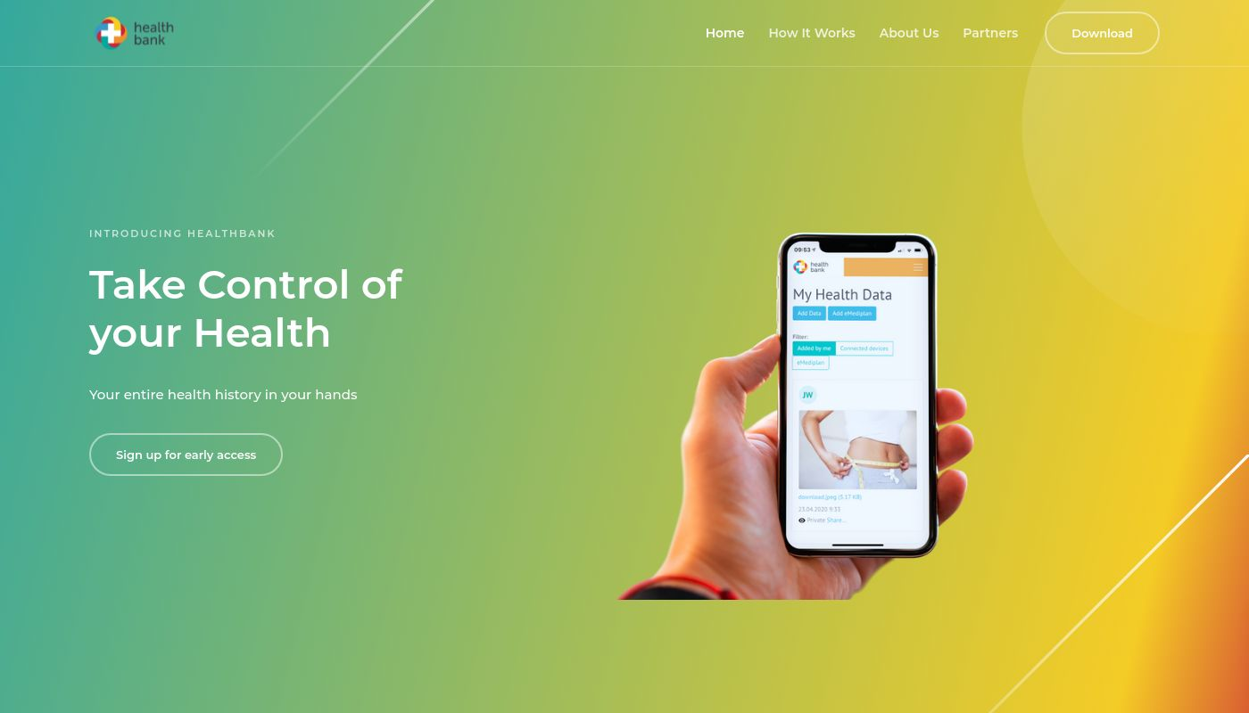 160) healthbank innovation