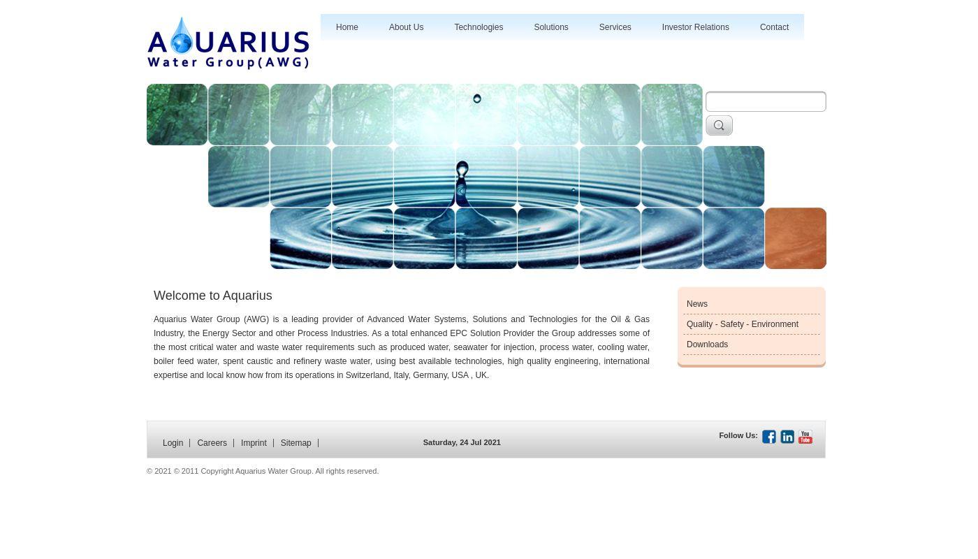 285) Aquarius Water Group