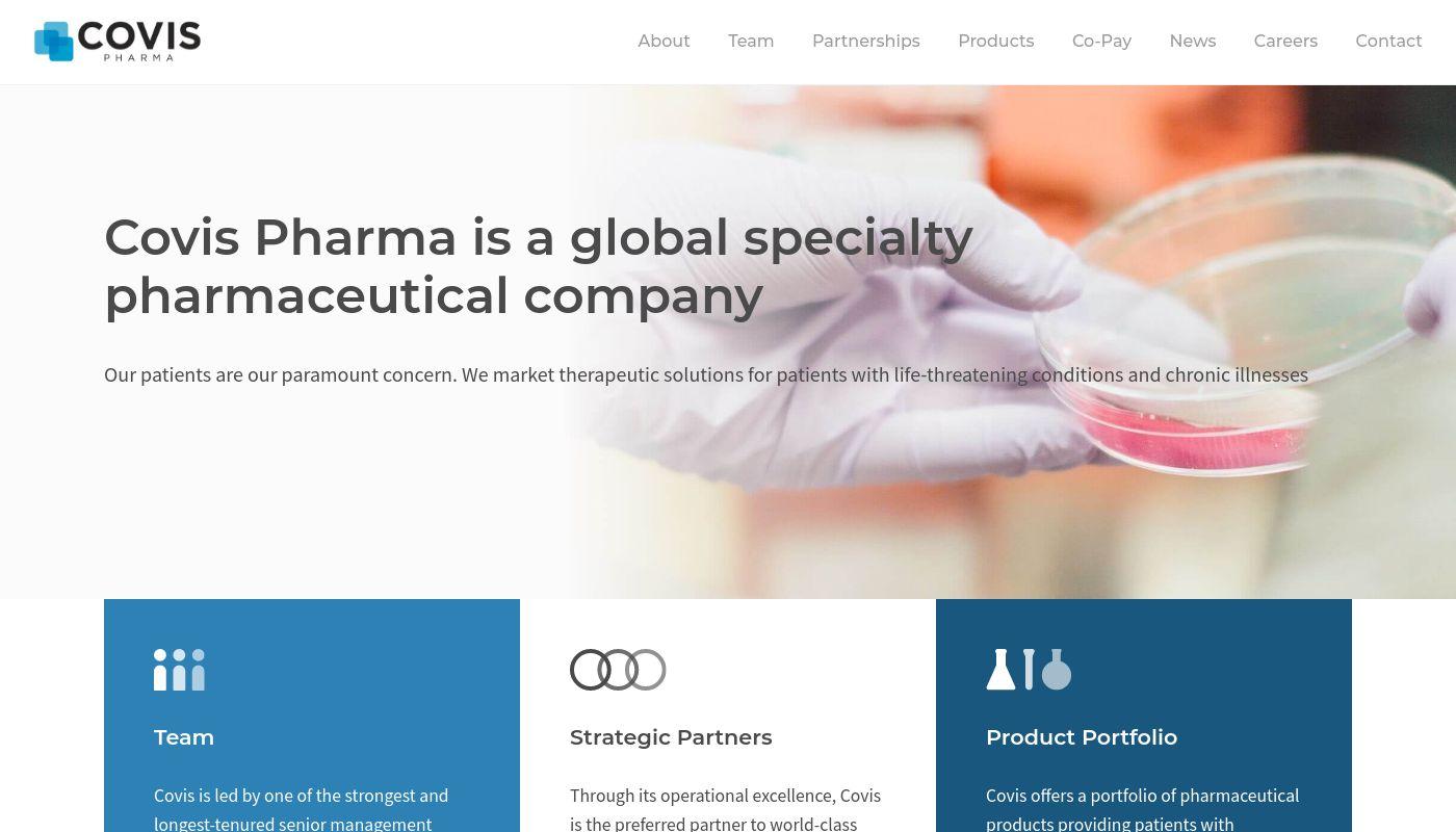 68) Covis Pharma