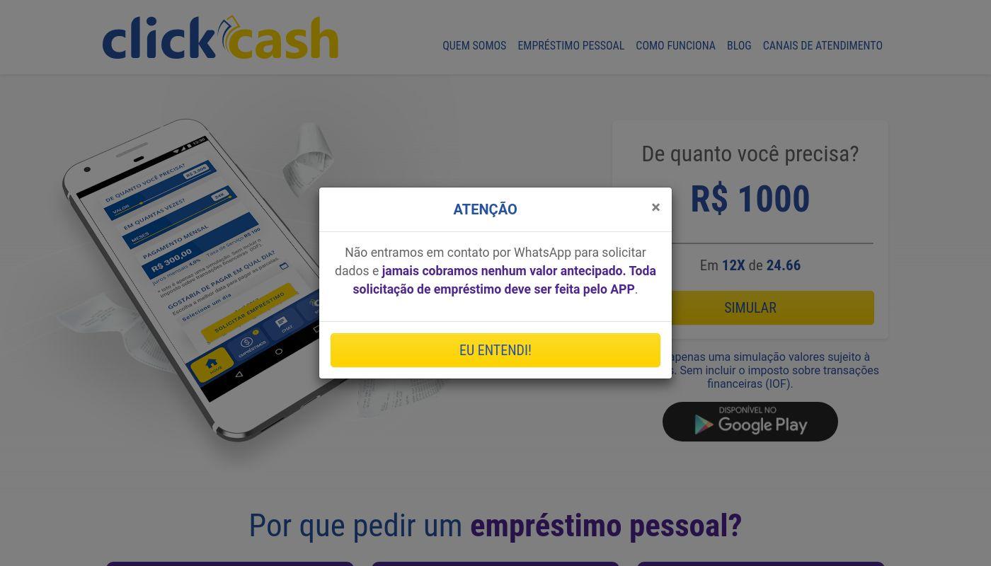67) Click Cash