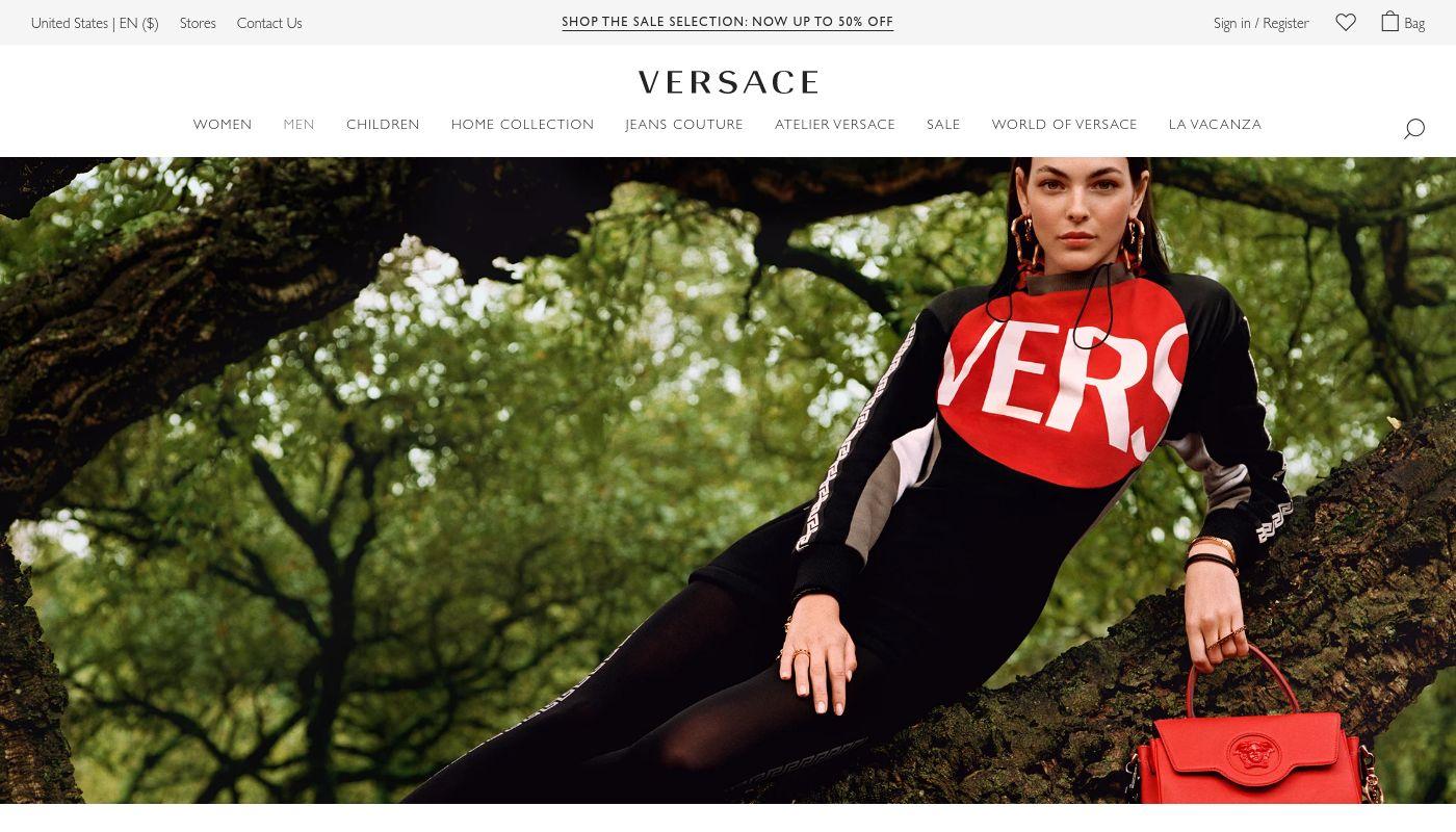 91) Versace
