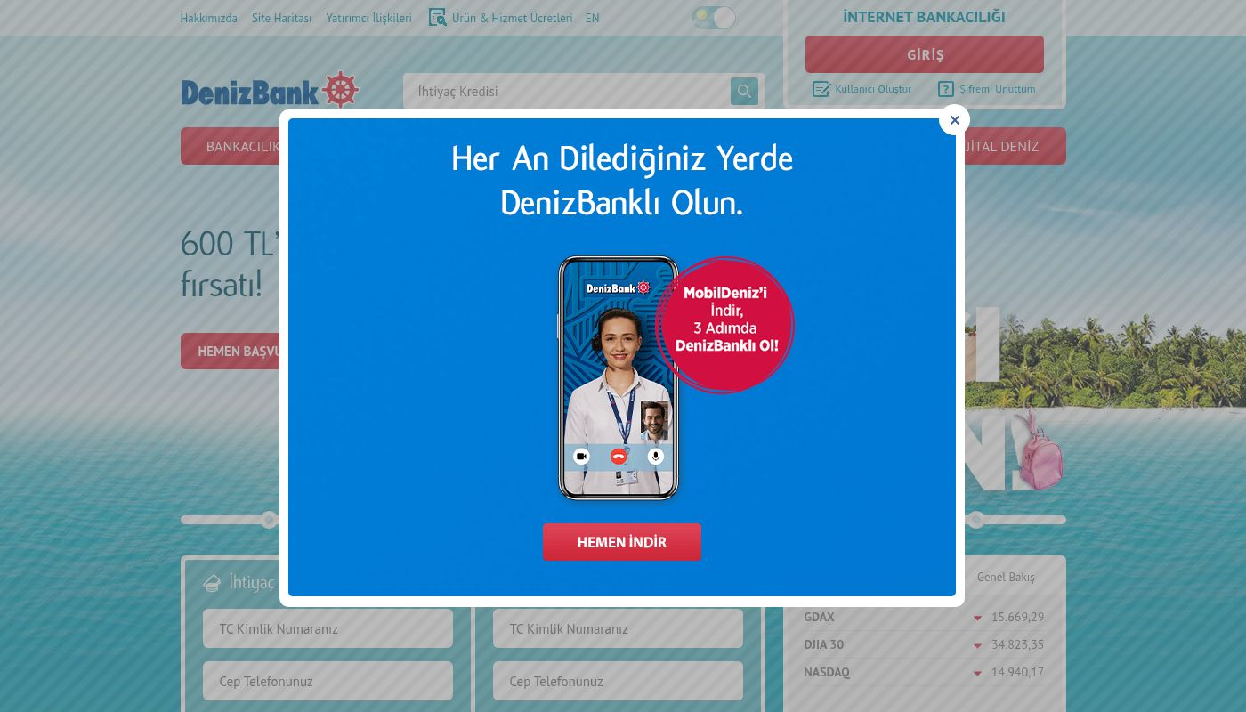 22) DenizBank