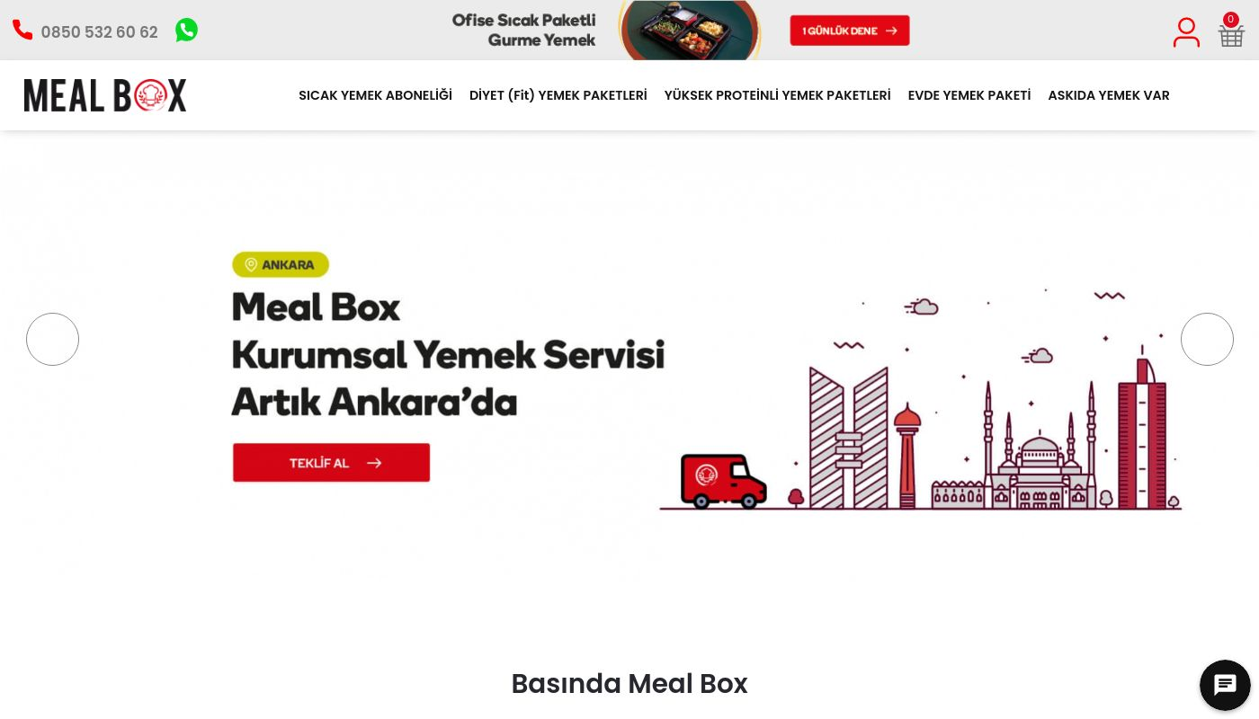 21) Meal Box
