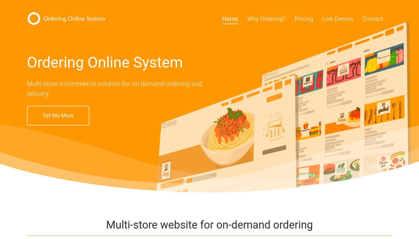 60) OrderingOnlineSystem