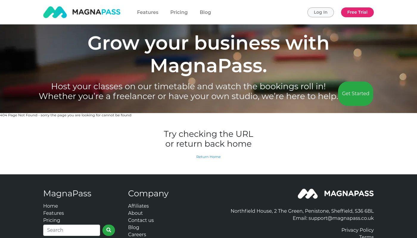 54) MagnaPass