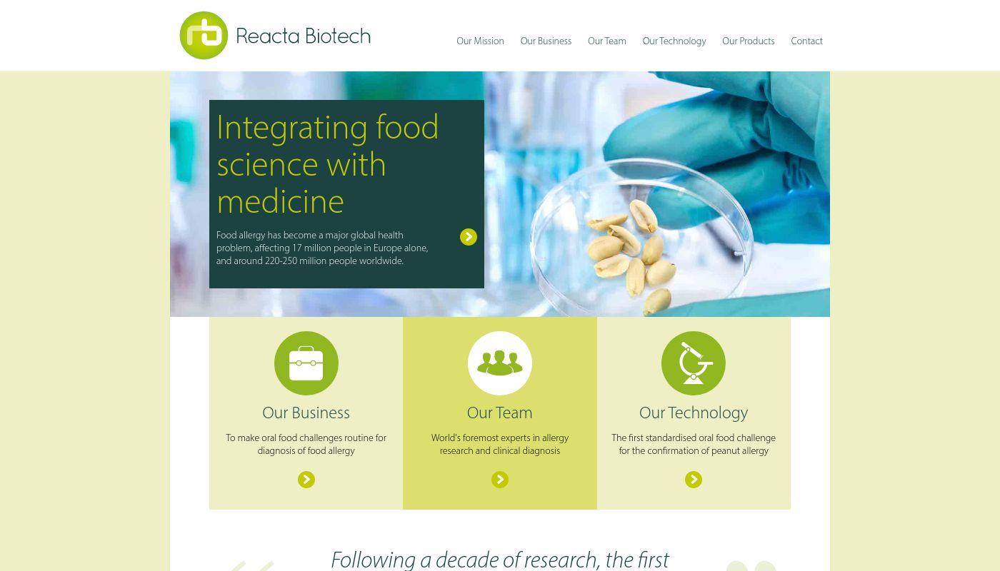 93) Reacta Biotech