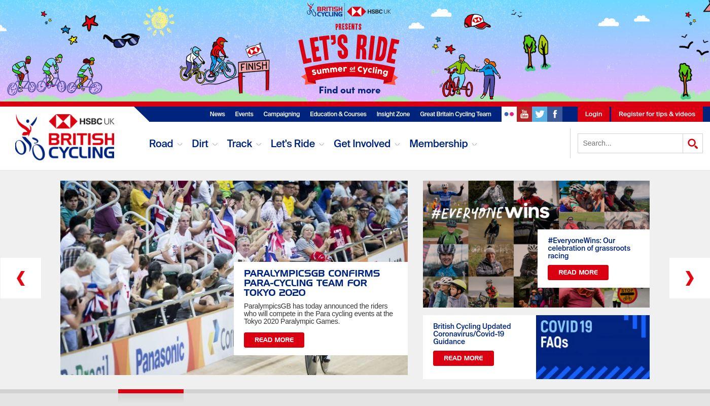 92) British Cycling