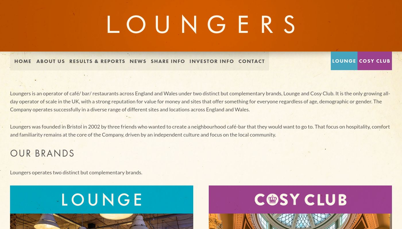 30) Loungers