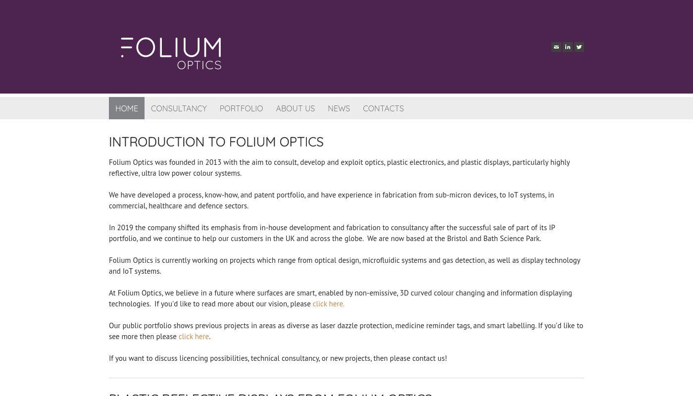 53) Folium Optics