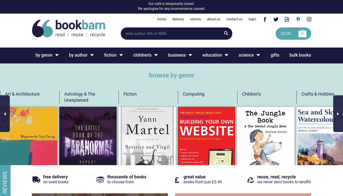65) Bookbarn International