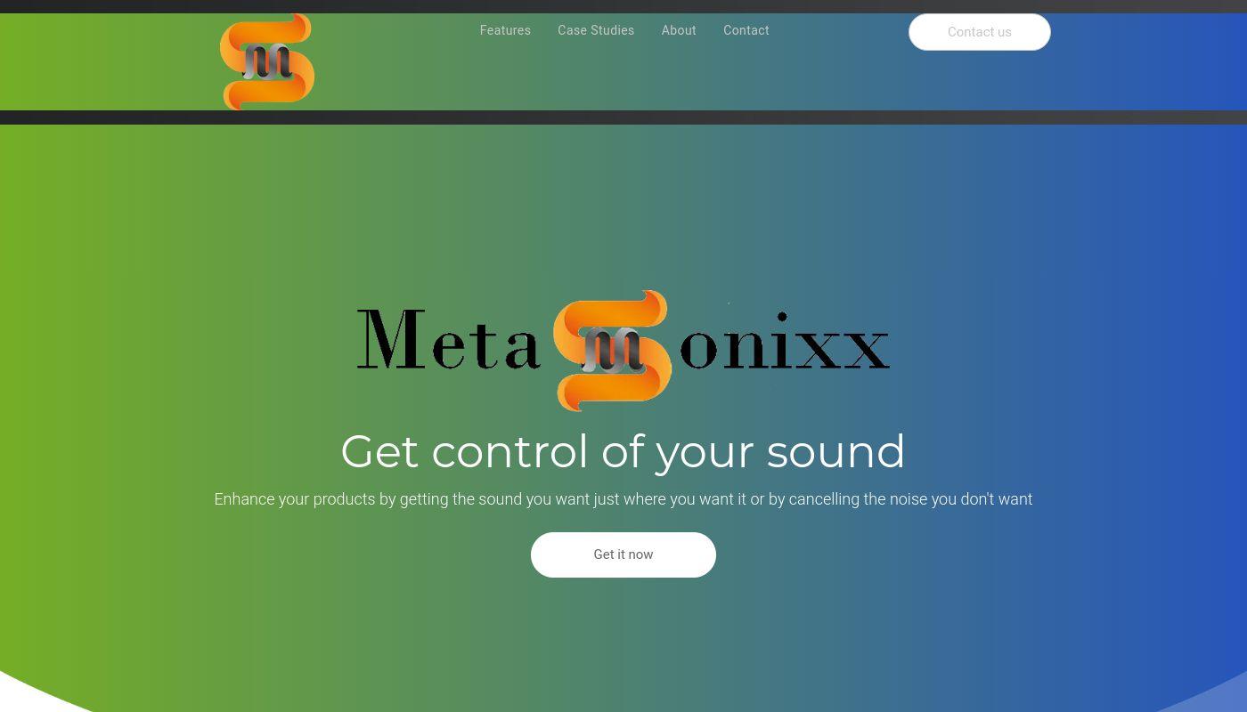 82) Metasonics